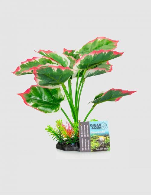 """Plante artificielle """"Panachée"""" 22 cm"""