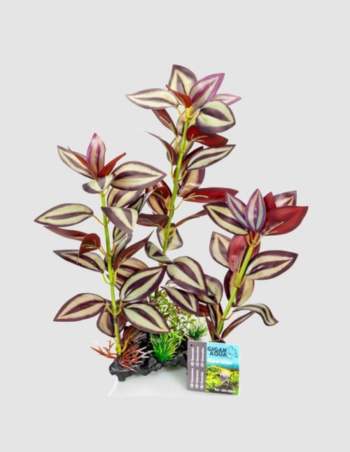 "Grande Plante artificielle ""Pourpre"" 35 cm"